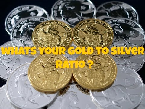 What's Your Gold To Silver Ratio ?