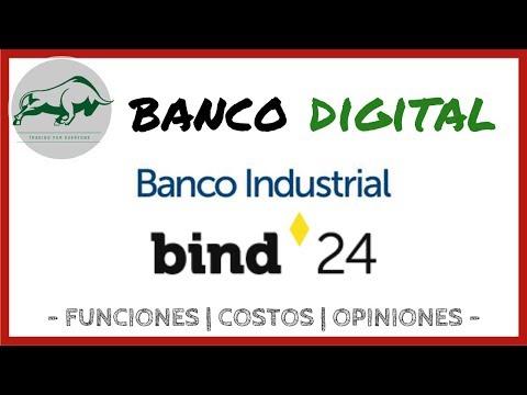 ✔️ BANCO DIGITAL 📲 del BANCO INDUSTRIAL - BIND 24 || Funciones - Costos - Opiniones