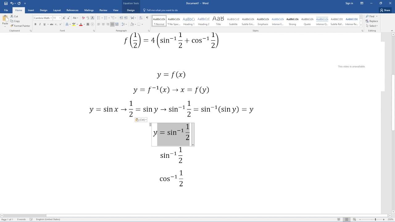 지식인 답변 - 삼각함수의 역함수 값 구하기 - YouTube