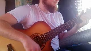 Как играть На гитаре бой - когда ты на машине при деньгах