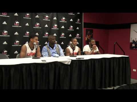 Leo Catholic High School's Press Conference After Big Win at NIU.