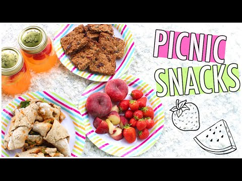 Healthy & Easy Summer Snacks for a Picnic! ☀