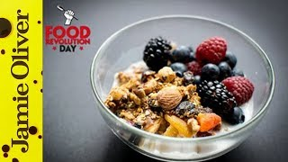 Breakfast Granola | Cook With Amber | #foodrevolutionday