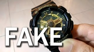 How to Check Fake G Shock