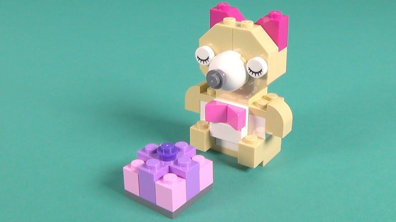 Lego Teddy Bear Building Instructions - Lego Classic 10698