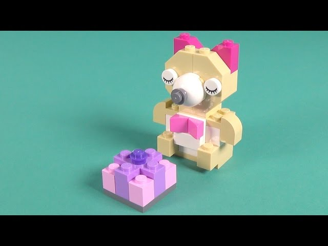 Lego Teddy Bear Building Instructions - Lego Classic 10698