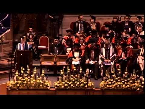 Graduation 2014: Monday afternoon ceremony