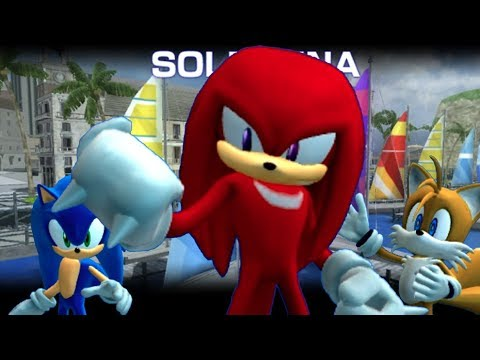 Sonic The Hedgehog 2006 E0008 Knuckles Delivers A Letter From Eggman With Better Audio Youtube