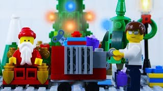 LEGO City Christmas Shopping Fail STOP MOTION LEGO Christmas Bad Luck   LEGO City   By Billy Bricks
