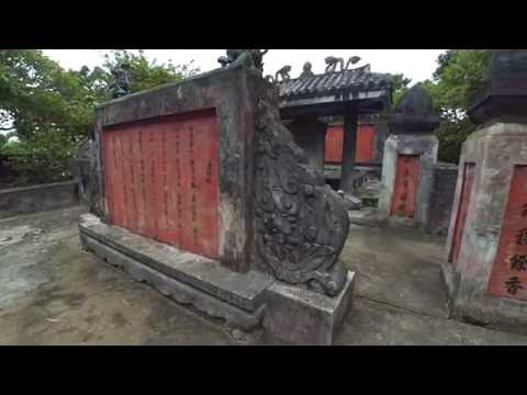Lăn mộ Nguyễn Huỳnh Đức công thần triều Nguyễn