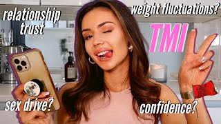 GIRL TALK *juicy*! red flags, motivation, shaving down there, weight fluctuations