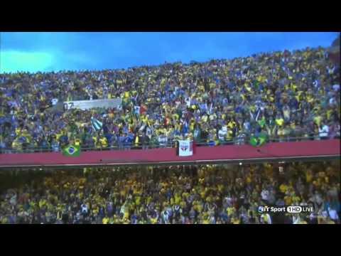Fred Goal Brazil vs Serbia 1 0 Friendly Match 2014