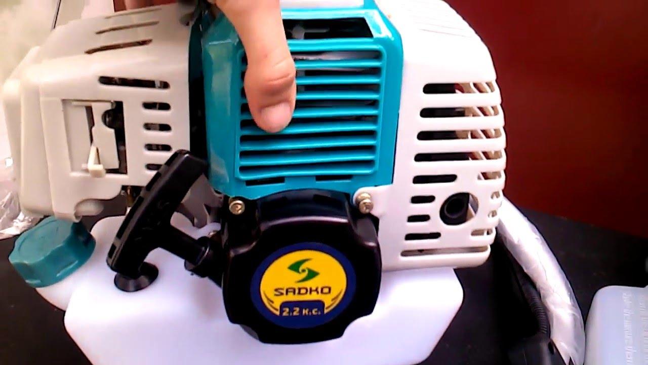 Четырехтактная мотокоса ProCraft T-5600 - YouTube