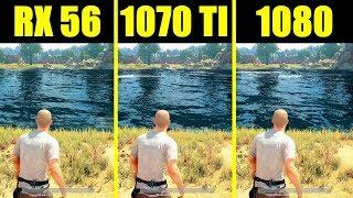 PUBG GTX 1080 Vs GTX 1070 TI Vs AMD
