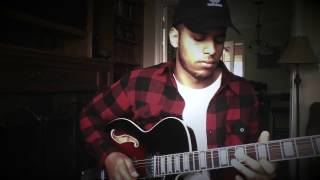 Neo-Soul Guitar Jam by Chris Kuria (Tom Misch - Windmills of Your Mind)