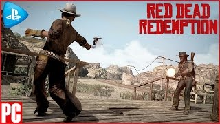 RED DEAD REDEMPTION on PC/PS NOW/ Free roam Gunfights Euphoria Ragdoll Physics Gameplay