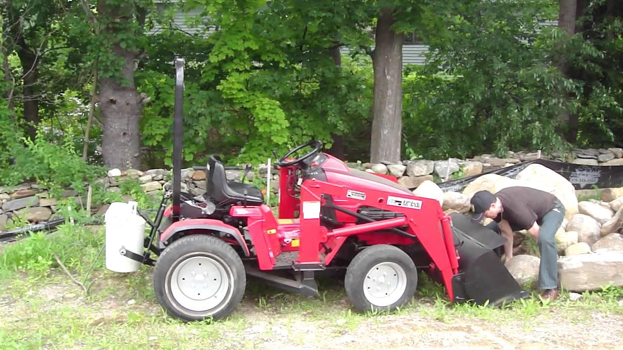 1995 Honda 5518a4 Multi Purpose Tractor 4wd 4ws Youtube