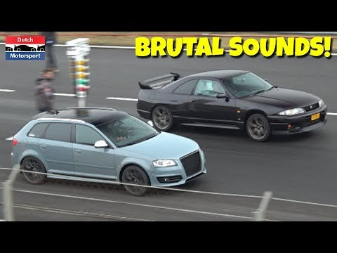 Modified Cars Drag Racing the 1/4 Mile! – Skyline, 700HP RS2, Civic Turbo, RS3, Impreza, Golf R
