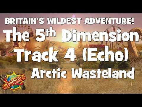 Chessington WoA - The 5th Dimension Track 4 (Arctic Wasteland) Echo - 30 Minute Loop