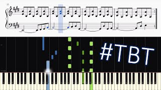 Journey - Don't Stop Believin' - Piano Tutorial + SHEETS | #tbt