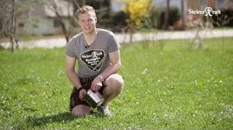 Ziegenkäsepralinen mit Kürbiskernremoulade Steirerkraft Rezepte Rocker Richard Herzog