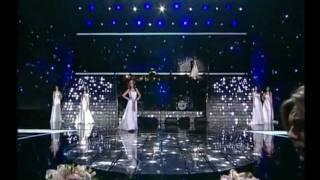 Дефиле Мисс Россия 2011 в свадебных платьях Pepe Botella
