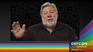 DEF CON China Party 2021 - Keynote Interview Excerpt - Steve Wozniak, The Dark Tangent