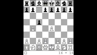 Шахматы.  Ловушки в дебюте - Сицилианский гамбит