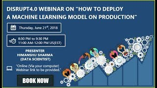 How to deploy a Machine Learning model on production