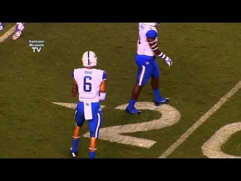 Kentucky Wildcats TV:  Kentucky 30 - Florida 36 (3OT)