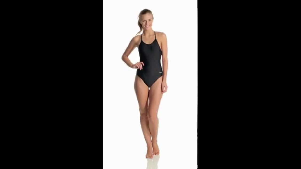 01054f8930c4 Sporti Active Tie Back One Piece Swimsuit