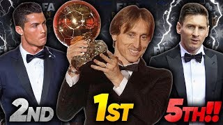 Is The 2018 Ballon d'Or The Biggest Embarrassment In Football?!  | Futbol Mundial