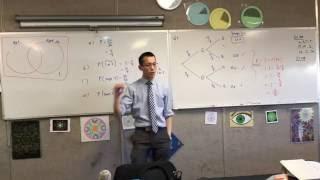 Probability Trees & Venn Diargams