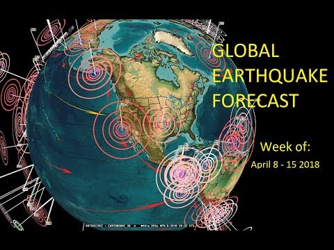 4/08/2018 — Global Earthquake Forecast — Pacific plate unrest spreads to USA + Europe