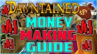 Dawntained RSPS How To Get Rich! TOP 5 INSANE Money Making Method! 10Mill Blood Money GIVEAWAY! RSPS