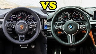 New Porsche Cayenne Turbo 2018 vs BMW X6 M