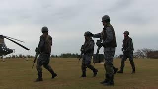 A171126A 航空自衛隊串本分屯基地 創立記念行事 戦闘訓練展示