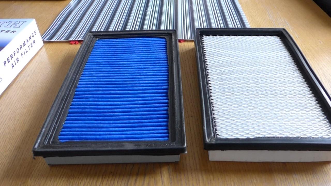 Cheap Air Filters >> Subaru Impreza Wrx Sti Cosworth Air Filter Vs Cheap Air Filter Comparison