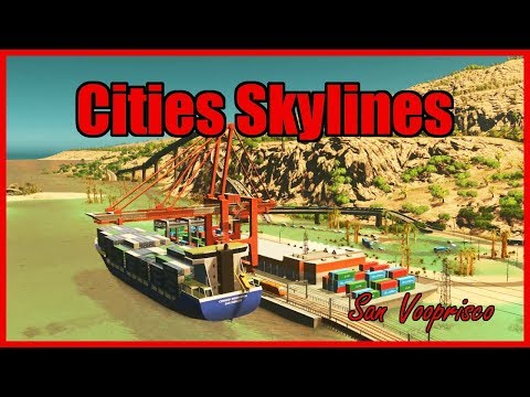 DISASTERPROOF FREIGHT SYSTEMS  Cities Skylines San Vooprisco 16