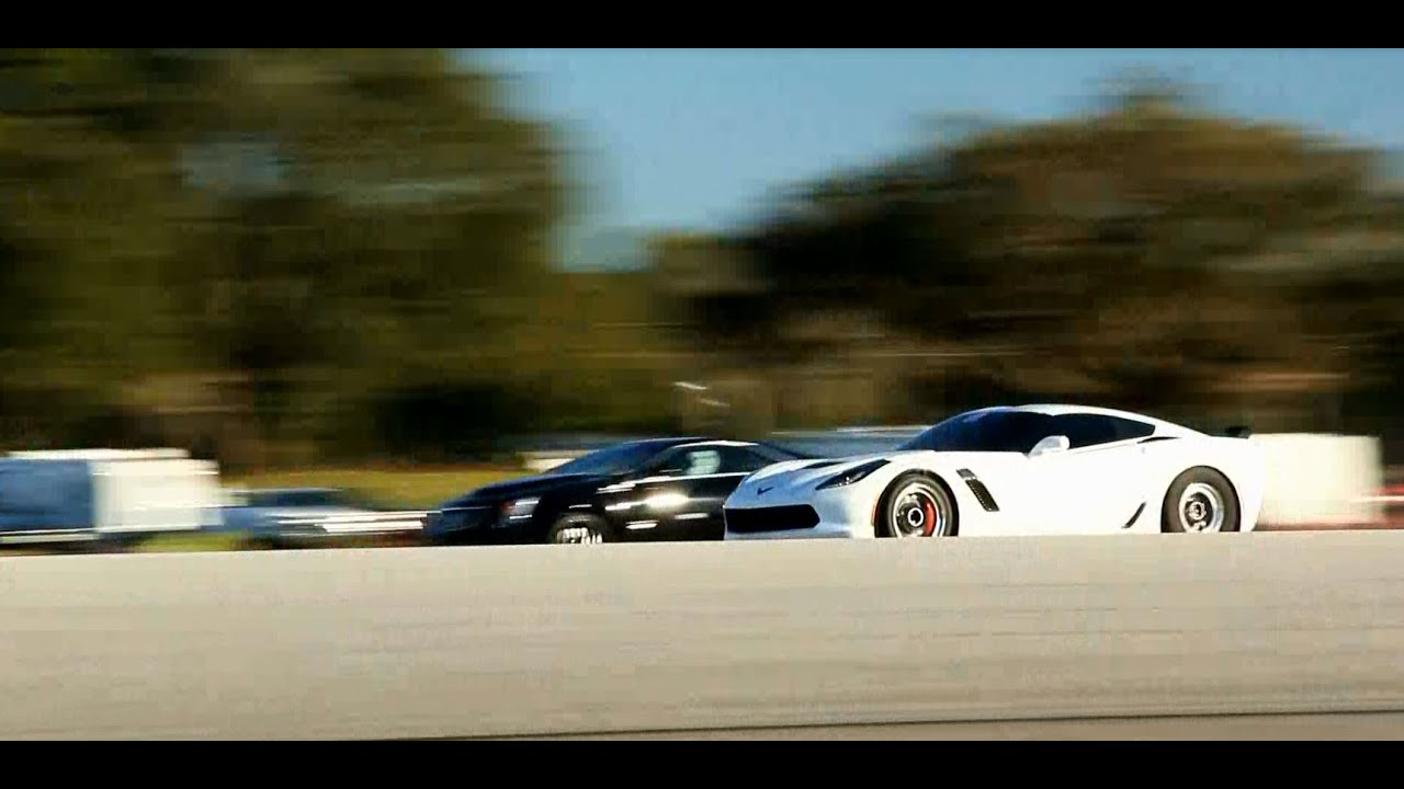 Awesome Chevrolet Corvette Z06 Vs Cadillac CTS V 1/2 Mile
