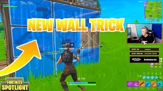 Win Every 1v1 Fight With This New Wall Trick Used By TFUE -  Fortnite Best Stream Moments #1