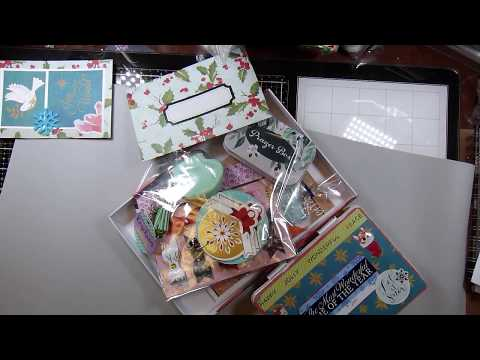 Christmas Embellishment Box Swap From Vangie!