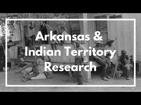 BlackProGen LIVE Ep15a: Arkansas and Indian Territory Genealogy Research (Part 1)