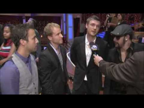 DWTS - Season 9 - Exclusive interview with Backstreet Boys about Aaron Carter after DWTS