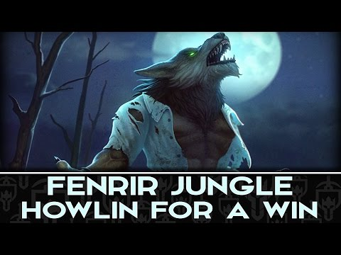 FENRIR JUNGLE: SWITCHING POSITIONS WITH MIRAGE?! - Incon - Smite