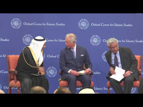 Prince Charles visits the Oxford Centre for Islamic Studies
