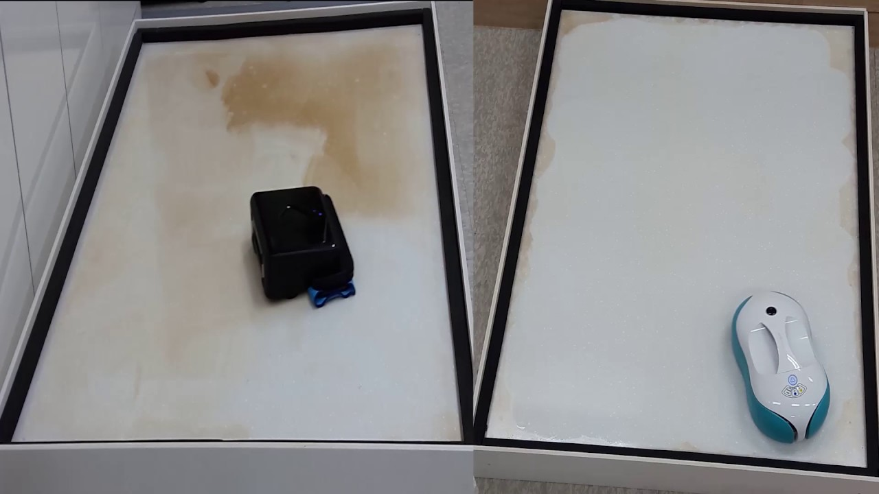 Cleaning comparison Braava 380T and Everybot RS500