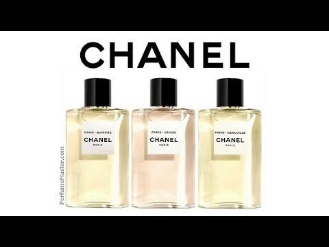 Chanel Paris Biarritz Venise Deauville New Perfumes Youtube