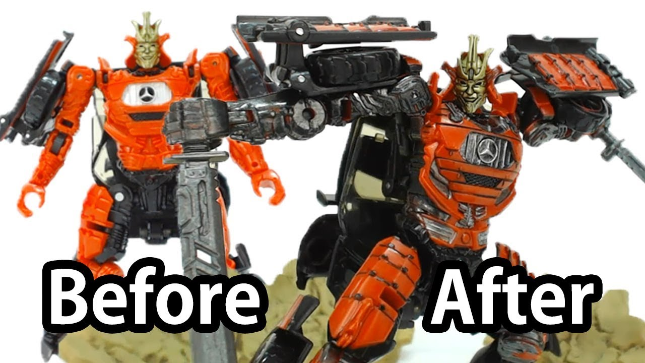 How to customize transformers 5 toy before after - Autobot drift transformers 5 ...