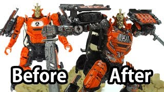 figcaption How to Customize Transformers 5 Toy? ( Before & After) - AUTOBOT DRIFT Deluxe Class Fast Detail Up